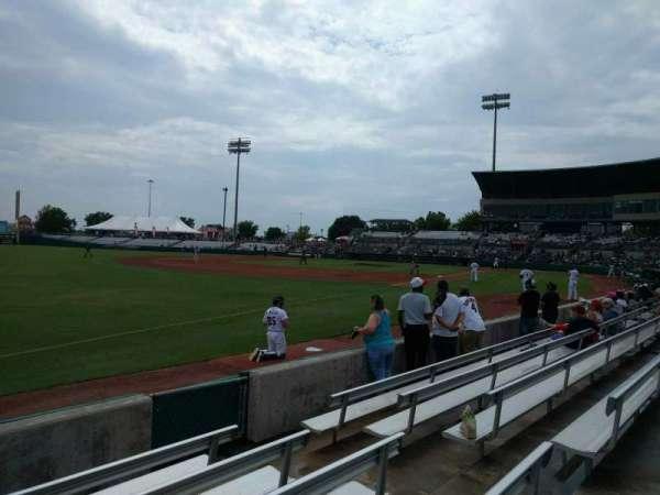 Nelson W. Wolff Municipal Stadium, sección: 119, fila: f, asiento: 6