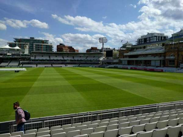 Lord's Cricket Ground, fila: 9, asiento: 38