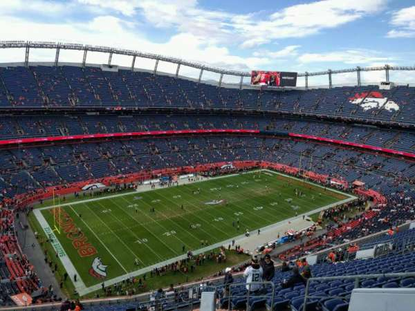 Empower Field at Mile High Stadium, sección: 540, fila: 20, asiento: 6