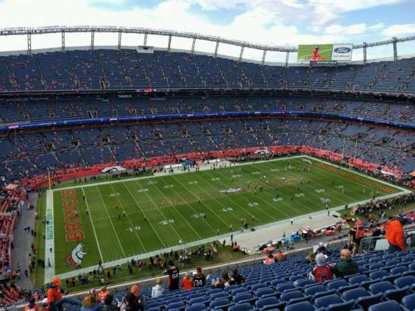 Empower Field at Mile High Stadium, sección: 538, fila: 16, asiento: 21