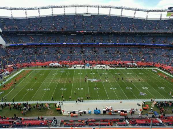 Empower Field at Mile High Stadium, sección: 535, fila: 4, asiento: 7