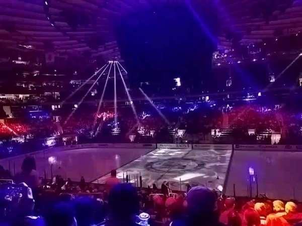 Madison Square Garden, sección: 108, fila: 20, asiento: 6