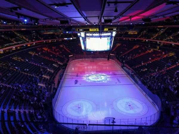 Madison Square Garden, sección: 304, fila: 2, asiento: 13