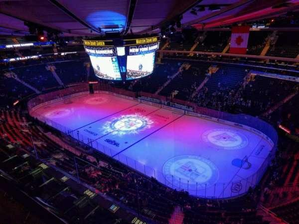 Madison Square Garden, sección: 328, fila: 2, asiento: 3