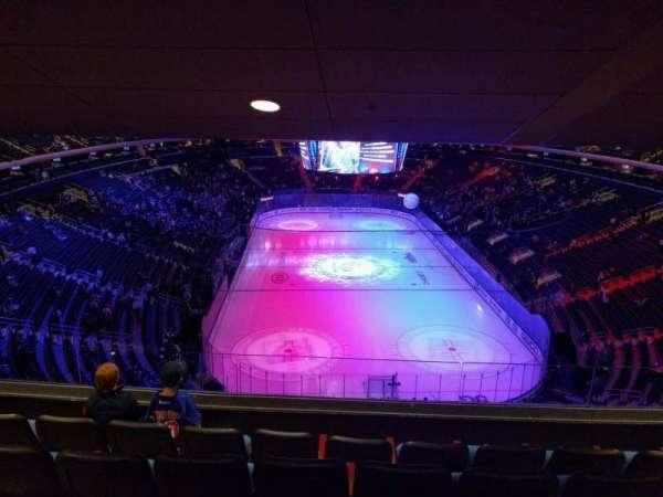 Madison Square Garden, sección: 416, fila: 5, asiento: 11