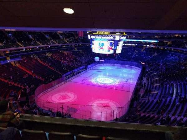Madison Square Garden, sección: 417, fila: 4, asiento: 12