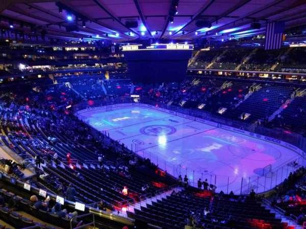Madison Square Garden, sección: 413, fila: 1, asiento: 1