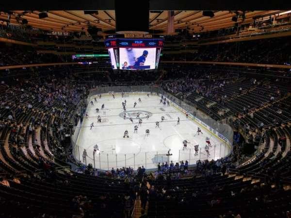 Madison Square Garden, sección: 217, fila: wc, asiento: 2