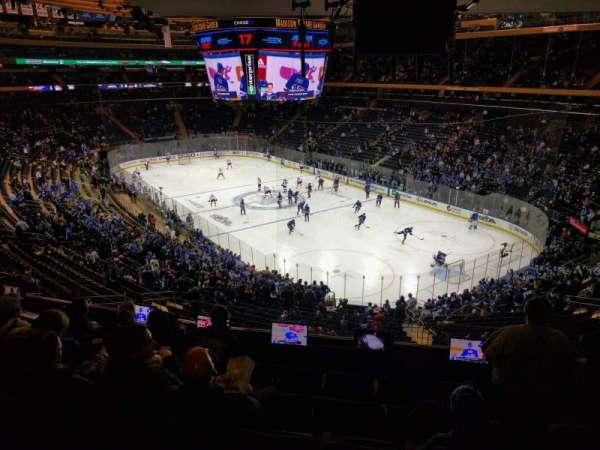 Madison Square Garden, sección: 201, fila: 6, asiento: 17