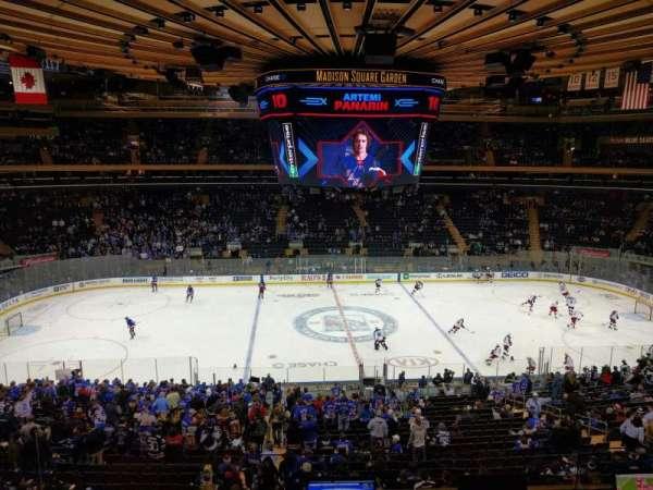Madison Square Garden, sección: 211, fila: 4, asiento: 1
