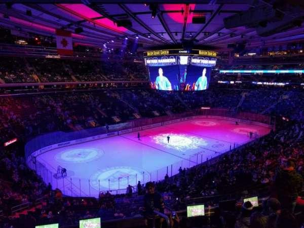 Madison Square Garden, sección: 207, fila: 6, asiento: 20