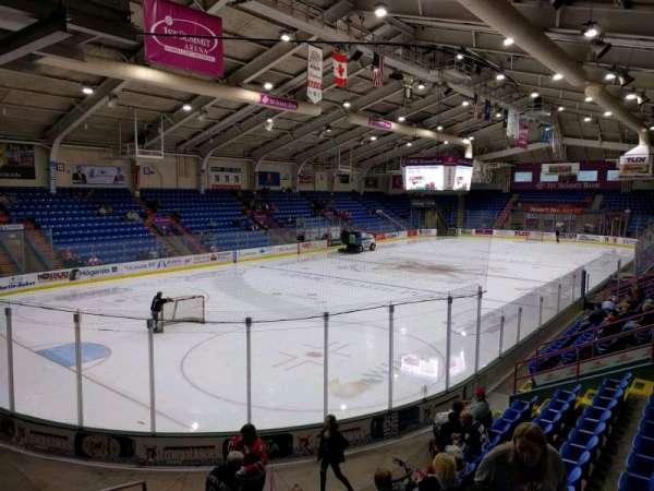 1st Summit Arena, sección: 22, fila: k, asiento: 11