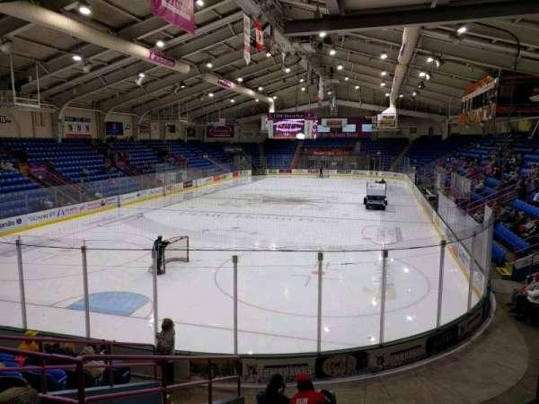1st Summit Arena, sección: 21, fila: k, asiento: 6