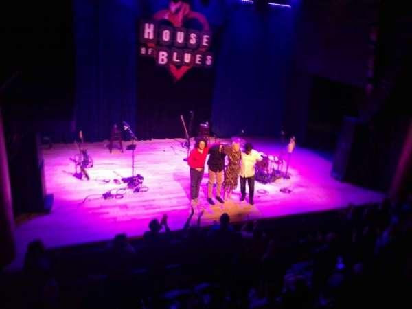 House Of Blues - San Diego, sección: BAL C, fila: A, asiento: 102