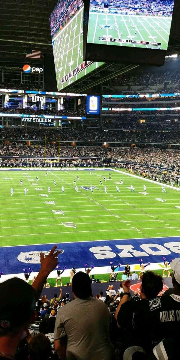 AT&T Stadium, sección: 250, fila: 7, asiento: 5