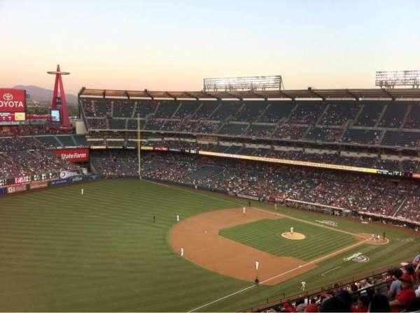 Angel Stadium, sección: V508, fila: G, asiento: 24