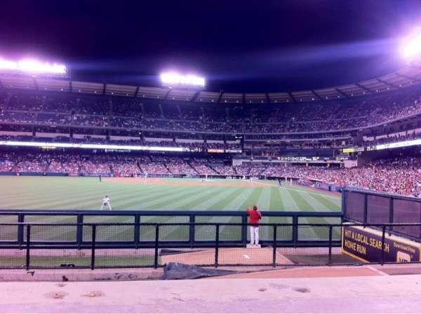 Angel Stadium, sección: P259, fila: G, asiento: 10