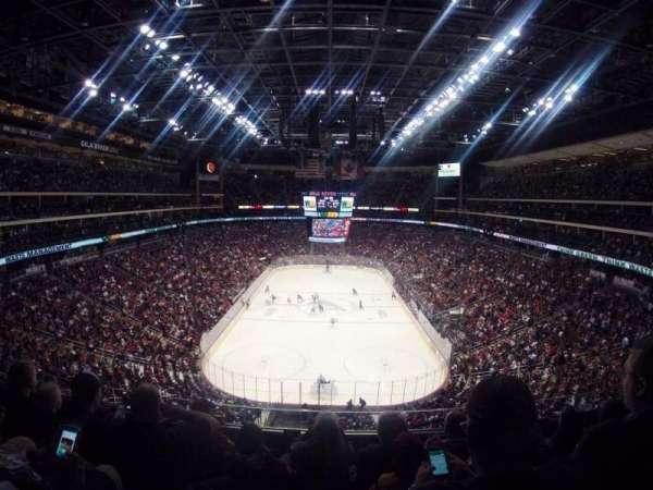 Gila River Arena, sección: 208, fila: D, asiento: 8