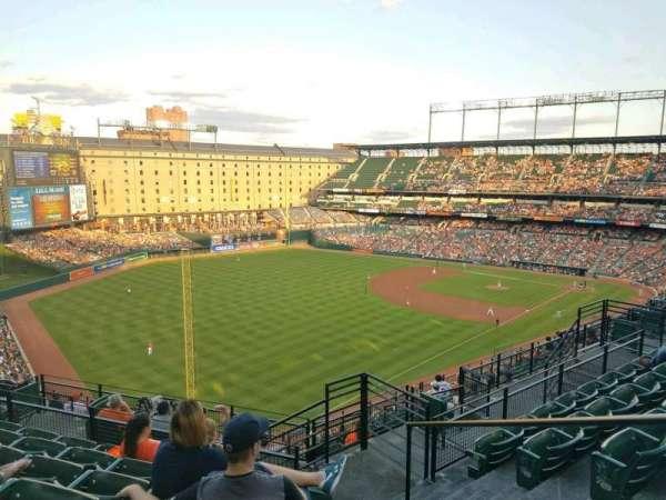 Oriole Park at Camden Yards, sección: 374, fila: 14, asiento: 2