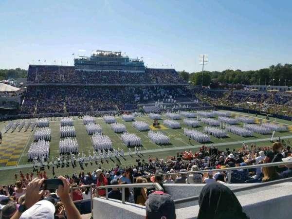 Navy-Marine Corps Memorial Stadium, sección: 131, fila: 17, asiento: 11