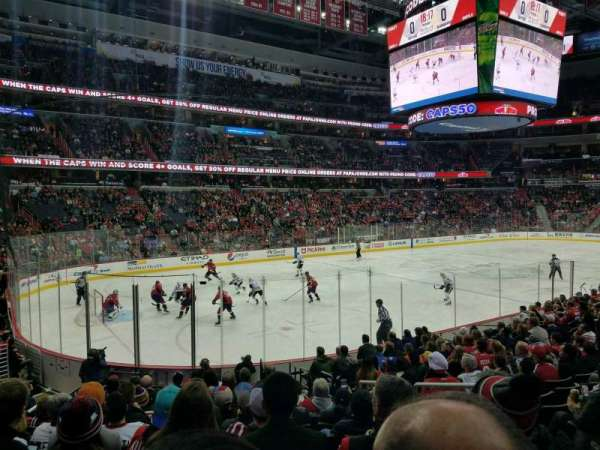 Capital One Arena, sección: 119, fila: P, asiento: 18