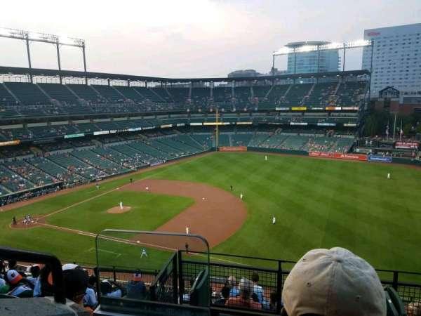 Oriole Park at Camden Yards, sección: 312, fila: 10, asiento: 18