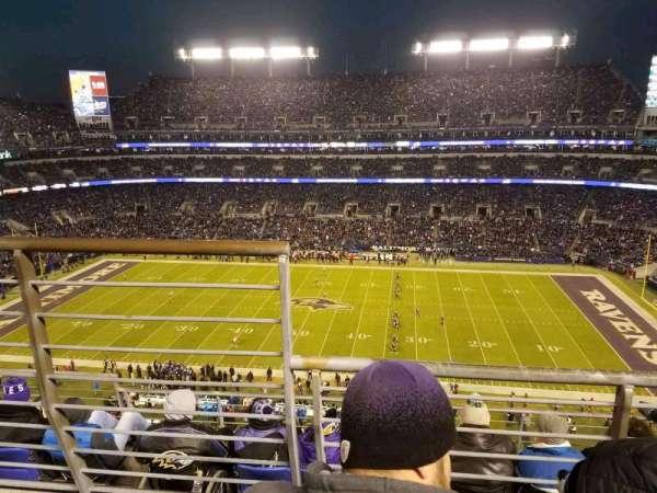 M&T Bank Stadium, sección: 525, fila: 5, asiento: 14