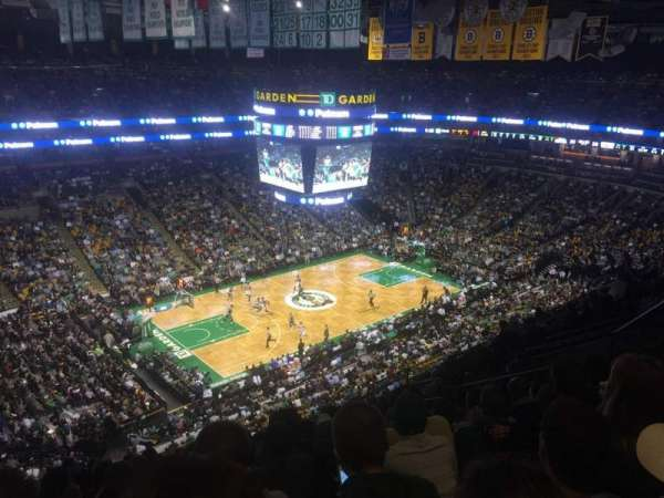 TD Garden, sección: Bal 304, fila: 12, asiento: 14