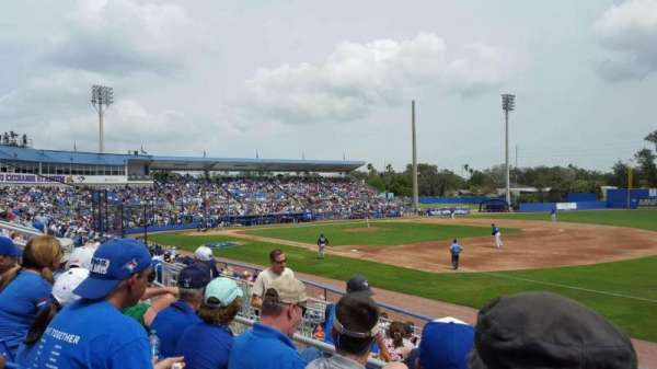 Florida Auto Exchange Stadium, sección: 200A, fila: 3, asiento: 11