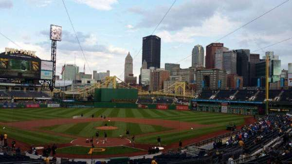 PNC Park, sección: Standing Room, fila: Standing, asiento: Standing