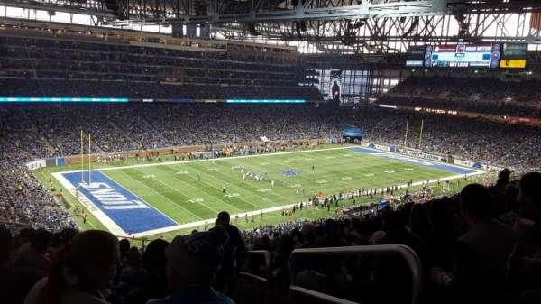 Ford Field, sección: 325, fila: 15, asiento: 23