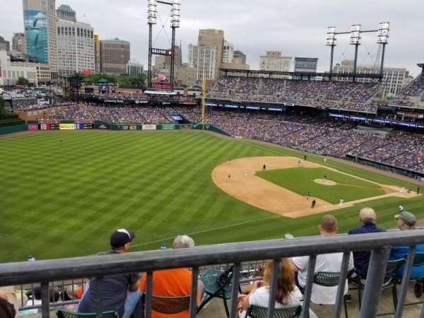Comerica Park, sección: 339, fila: 1, asiento: 16