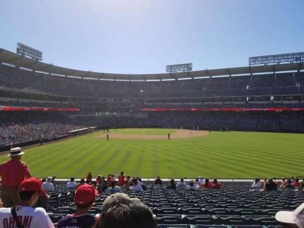 Angel Stadium, sección: P238, fila: K, asiento: 1