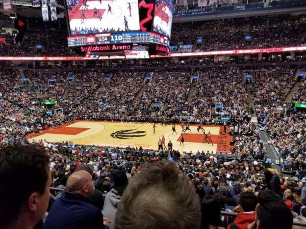 Scotiabank Arena, sección: 118, fila: 27, asiento: 6