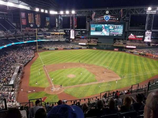 Chase Field, sección: 313, fila: 13, asiento: 16