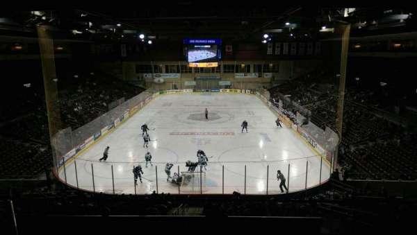 Erie Insurance Arena, sección: STE311, fila: A, asiento: 4