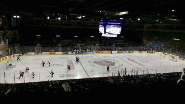 Erie Insurance Arena, sección: Suite 302, fila: SA, asiento: 7