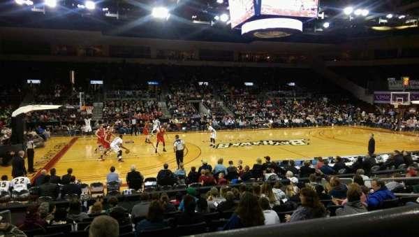 Erie Insurance Arena, sección: 203, fila: K, asiento: 11