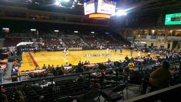 Erie Insurance Arena, sección: 217, fila: P, asiento: 7