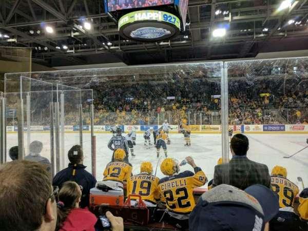 Erie Insurance Arena, sección: 119, fila: E, asiento: 2