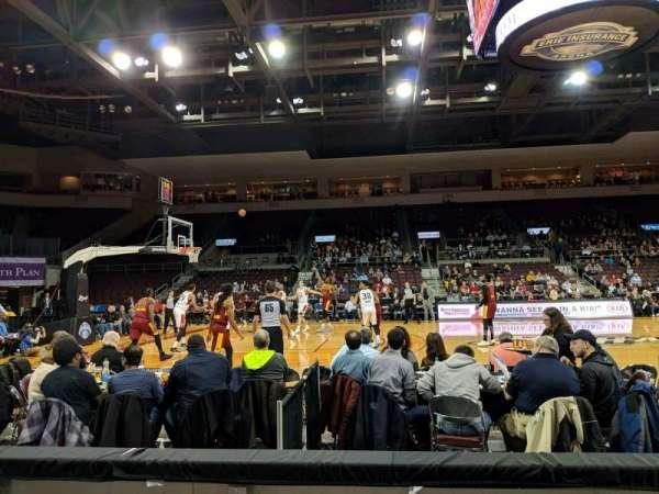 Erie Insurance Arena, sección: 118, fila: C, asiento: 5