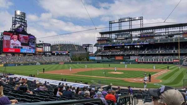 Coors Field, sección: 133, fila: 24, asiento: 10