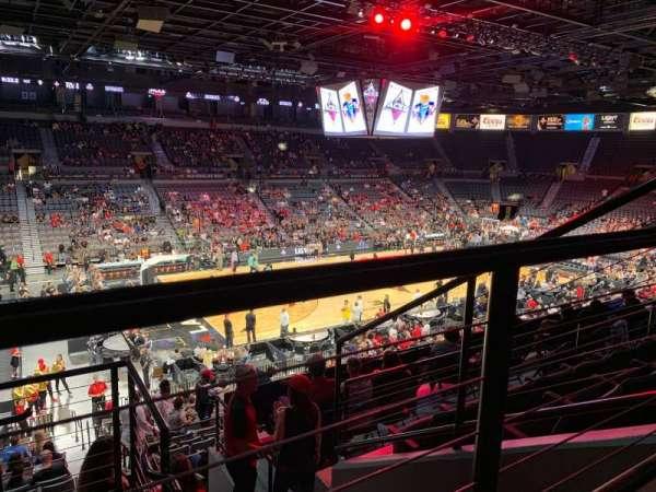Mandalay Bay Events Center, sección: 205, fila: E, asiento: 2