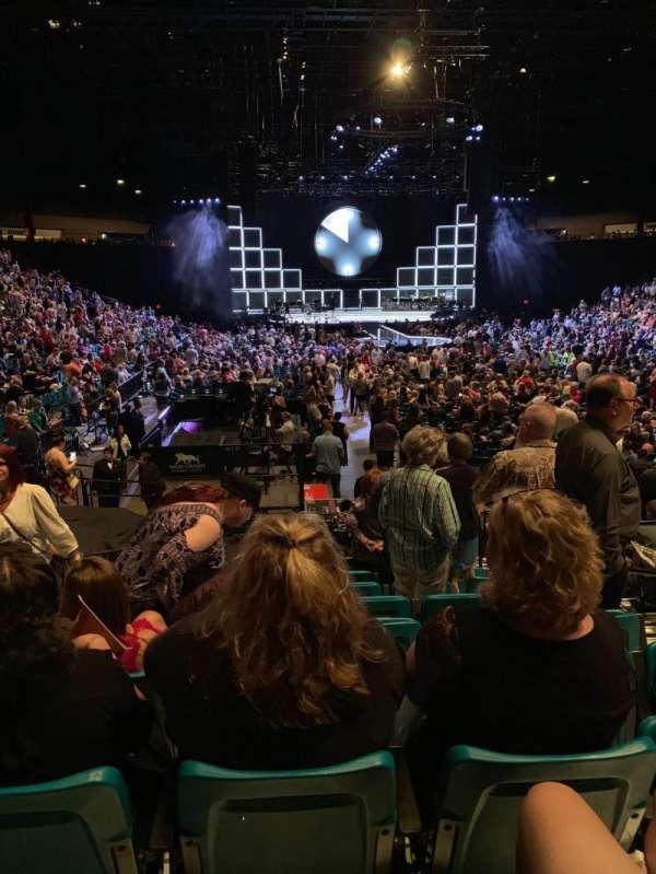 MGM Grand Garden Arena, sección: 3, fila: N, asiento: 4