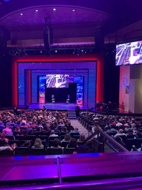 Penn & Teller Theater, sección: 5, fila: AA