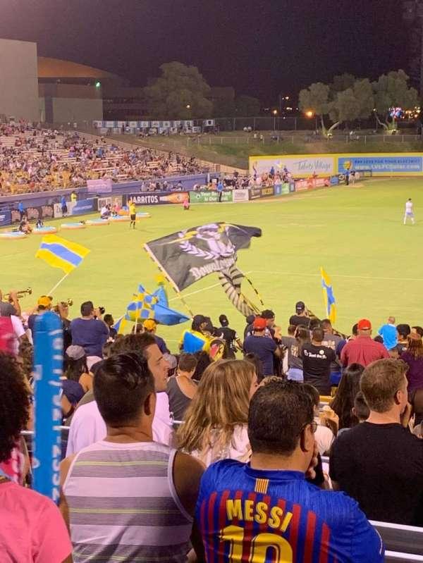 Cashman Field, sección: Spectator, fila: GA, asiento: GA