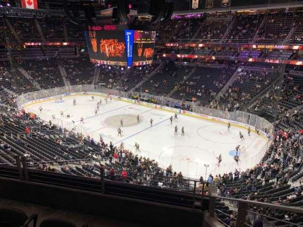 T-Mobile Arena, sección: 227, fila: C, asiento: 8