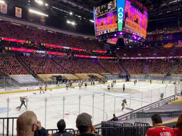 T-Mobile Arena, sección: 13, fila: K, asiento: 2