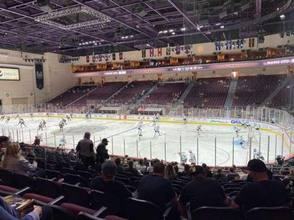 Orleans Arena, sección: 114, fila: M, asiento: 8