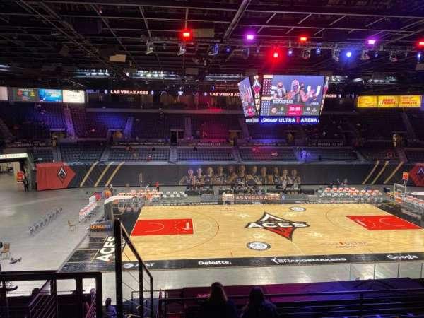 Michelob Ultra Arena, sección: 206, fila: G, asiento: 7